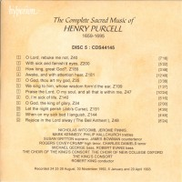 Purchase Henry Purcell - The Complete Sacred Music Of Henry Purcell Vol. 5