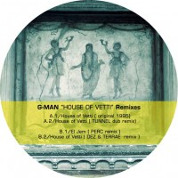 Purchase G-Man - House Of Vetti (EP)