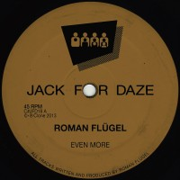Purchase Roman Flugel - Even More (CDS)