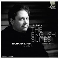 Purchase Johann Sebastian Bach - The English Suites By Richard Egarr CD1