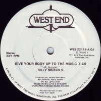 Purchase Billy Nichols - Give Your Body Up To The Music (VLS)