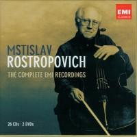 Purchase Mstislav Rostropovich - The Complete Emi Recordings - Documentary Cd CD26