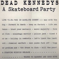 Purchase Dead Kennedys - A Scateboard Party (Live) (Vinyl)