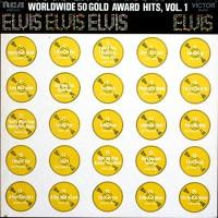 Purchase Elvis Presley - Worldwide 50 Gold Award Hits, Vol. 1 (Vinyl) CD1