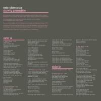 Purchase Eric Chenaux - Slowly Paradise