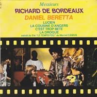 Purchase Richard De Bordeaux - Le Temps Fou (Vinyl)