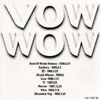 Purchase Vow Wow - Twin Best CD2