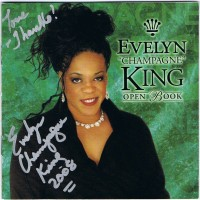 "Purchase Evelyn ""Champagne"" King - Open Book"
