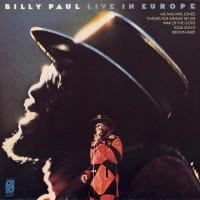 Purchase Billy Paul - Live In Europe (Vinyl)