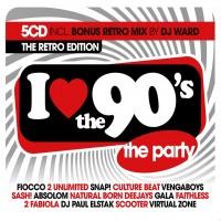 Purchase VA - I Love The 90's: The Retro Edition CD1