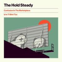 Purchase The Hold Steady - Confusion In The Marketplace B/W T-Shirt Tux (EP)
