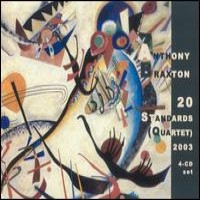 Purchase Anthony Braxton - 20 Standards (Quartet) 2003 CD3
