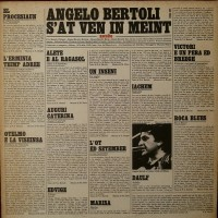 Purchase pierangelo bertoli - S'at Ven In Meint (Vinyl)