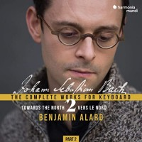 Purchase Benjamin Alard - J.S. Bach: Complete Keyboard Edition, Vol. 2.2 CD2