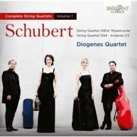 Purchase Diogenes Quartet - Schubert: Complete String Quartets Vol. 1