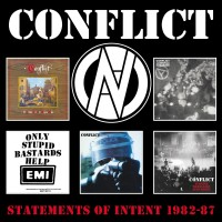 Purchase Conflict - Statements Of Intent 1982-87 CD3